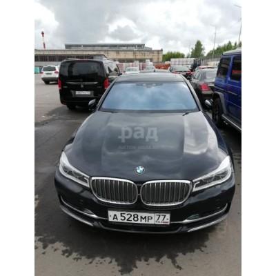 BMW 750 LI Xdrive, черный, 2015, 70 973 км, 4.5 АТ (449 л. с.), бензин, полный, VIN WBA7F21030G523752, ограничения и обременения: ограничения на регистрационные дествия будут сняты до даты проведения торгов, г. Видное