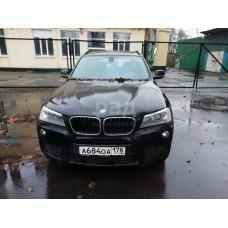 BMW X3 xDrive 20d, черный, 2012, пробег - нет данных, 2.0 АТ (116 л. с.), дизель, VIN WBAWY310X00A62850, ПТС отсутствует, г. Санкт-Петербург,