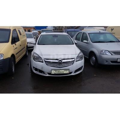 Opel Insignia (0G-А Limousine NВ), белый, 2013, пробег - нет данных, 1.6 АТ (169 л. с.), бензин, передний, VIN ХWFGТ5GТ1Е0000379, ключи и документы отсутствуют, г. Москва