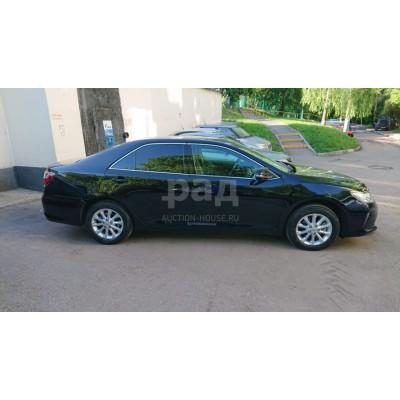 Toyota Camry, черный, 2016, 9 000 км, 1.9 АТ (150 л. с.), бензин, передний, VIN XW7BN4FK70S107814, г. Видное