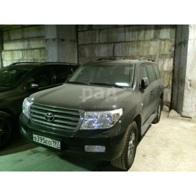 Toyota Land Cruiser 200, черный, 2008, 148 000 км, 4.7 АТ (288 л. с.), бензин, полный, VIN JTMHN05JX05018097, г. Видное