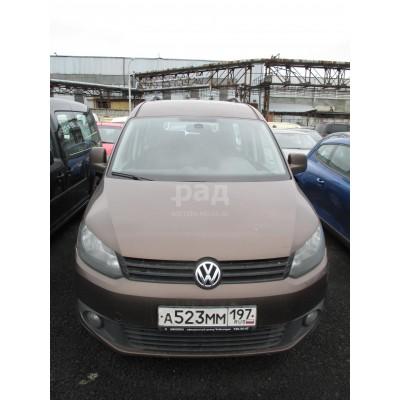 Volkswagen 2k Caddy Maxi, коричневый, 2012, 120 995 км, 1.9 МТ (110 л. с.), дизель, передний, VIN WV2ZZZ2KZDX038288, г. Видное
